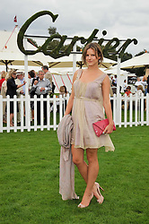 FUSCHIA KATE SUMNER at the 25th annual Cartier International Polo held at Guards Polo Club, Great Windsor Park, Berkshire on 26th July 2009.