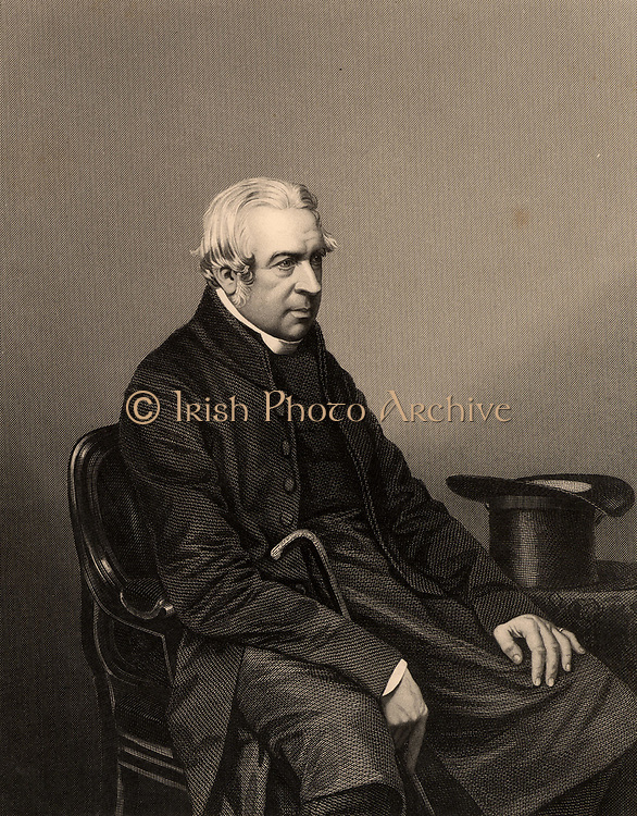Charles Richard Sumner (1790-1874) English churchman born at Kenilworth, Warwickshire. Bishop of Worcester 1827-1873. Engraving from 'The Illustrated News of the World' (London, c1860).