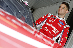 June 1, 2018 - Long Pond, Pennsylvania, United States of America - Ryan Reed (16) climbs into his car to practice for the Pocono Green 250 at Pocono Raceway in Long Pond, Pennsylvania. (Credit Image: © Chris Owens Asp Inc/ASP via ZUMA Wire)