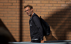 BURNLEY, ENGLAND - Saturday, August 31, 2019: Liverpool's manager Jürgen Klopp arrives before the FA Premier League match between Burnley FC and Liverpool FC at Turf Moor. (Pic by David Rawcliffe/Propaganda)
