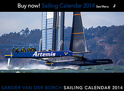 "Image from the Sander van der Borch 2014 Sailing Calendar. Orders may be placed using the ""Buy Calendar"" button at the top of the screen."