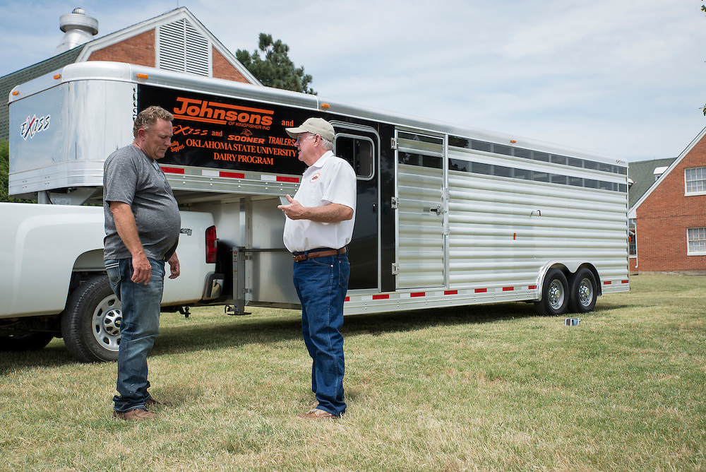 Dairy Program Trailer Donated By Johnsons Of Kingfisher Exis And