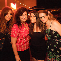 Megan Urie, Sharon Spell, Mindy Tucker, Carol Hartsell - Reverend Vince Anderson and the Love Choir - August 13, 2012 - Union Pool - Brooklyn, NY