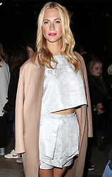 Poppy Delevingne   at the Topshop Unique show at London Fashion Week A/W 14,  Sunday, 16th February 2014. Picture by Stephen Lock / i-Images