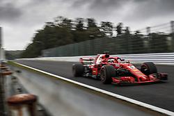 October 6, 2018 - Suzuka, Japan - Motorsports: FIA Formula One World Championship 2018, Grand Prix of Japan, .World Championship 2018 Grand Prix Japan , #5 Sebastian Vettel (GER, Scuderia Ferrari) (Credit Image: © Hoch Zwei via ZUMA Wire)