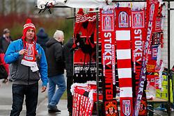 outside the stadium - Photo mandatory by-line: Rogan Thomson/JMP - 07966 386802 - 01/01/2015 - SPORT - FOOTBALL - Stoke-on-Trent, England - Britannia Stadium - Stoke City v Manchester United - New Year's Day Football - Barclays Premier League.