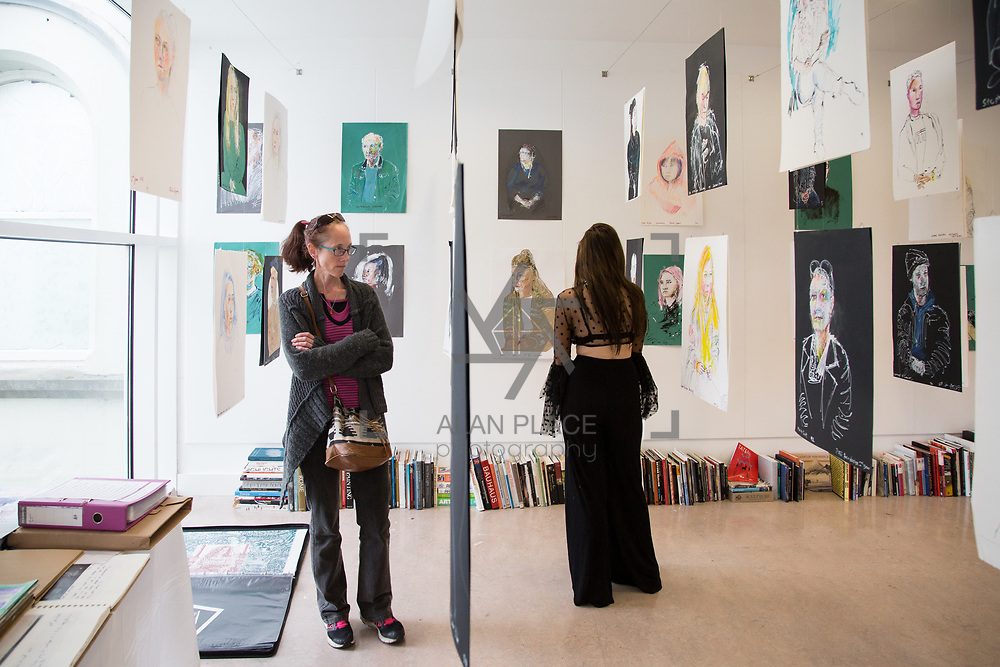 11.06.2017         <br /> International award winning artists are among the almost 200 graduates of Limerick School of Art and Design who's work went on exhibition at the LSAD Graduate Show 2017.<br />  <br /> Students from the college took control of the over-riding message of this historical show as they conceptualised, designed and delivered on the theme - be.cause.<br />  <br /> The hypothesis conceived by Graphic Design graduates Cassandra Walsh and David Reilly, is derived from the fact the graduates have now reached a stage where they are confident with their work, their interpretations and creative solutions. As creative minds they have an innate need to &ldquo;do&rdquo; something. There is just this need to create, be.cause.<br /> . Picture: Alan Place.