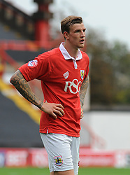 Bristol City's Aden Flint  - Photo mandatory by-line: Nizaam Jones- Mobile: 07583 3878221 - 27/09/2014 - SPORT - Football - Bristol - Ashton Gate - Bristol City v MK Dons - Sports