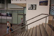 Documentary photography by Richard Baker from the airport-theme exhibition entitled 'Terminal P', at Montpellier airport, south of France.