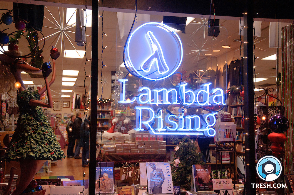 Lambda Rising Bookstore in Washington D.C., which announced its closing at the end of 2009.