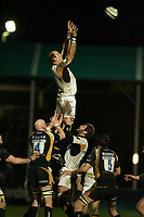 Photo: Rich Eaton.<br /> <br /> Worcester Rugby v London Wasps. Guinness Premiership. 26/01/2007. Lawrence Dallaglio captain of Wasps wins lineout ball