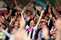 Photo: Leigh Quinnell.<br /> West Bromwich Albion v Barnsley. Coca Cola Championship. 06/05/2007. West Brom fans celebrate their seven goal victory.