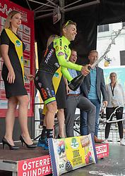 09.07.2019, Frohnleiten, AUT, Ö-Tour, Österreich Radrundfahrt, 3. Etappe, von Kirchschlag nach Frohnleiten (176,2 km), im Bild Etappensieger Giovanni Visconti (Neri Selle Italia KTM, ITA) // stage winner Giovanni Visconti (Neri Selle Italia KTM ITA) during 3rd stage from Kirchschlag to Frohnleiten (176,2 km) of the 2019 Tour of Austria. Frohnleiten, Austria on 2019/07/09. EXPA Pictures © 2019, PhotoCredit: EXPA/ Johann Groder