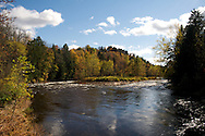 Fall at Fish Creek, Adirondacks