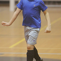Lawson Kievit dribbles Sunday January 18, 2015 at the Wilmington Family YMCA. (Jason A. Frizzelle)
