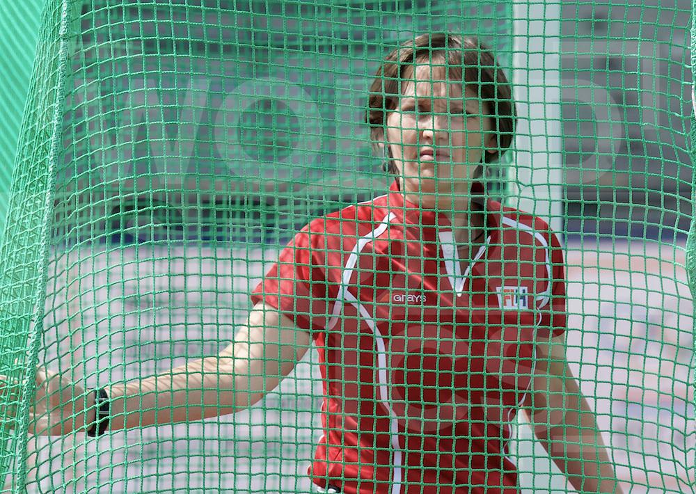 ROTTERDAM - Hock World League Semi Final Women<br /> Germany v New Zealand<br /> foto: umpire Elena<br /> FFU PRESS AGENCY COPYRIGHT FRANK UIJLENBROEK