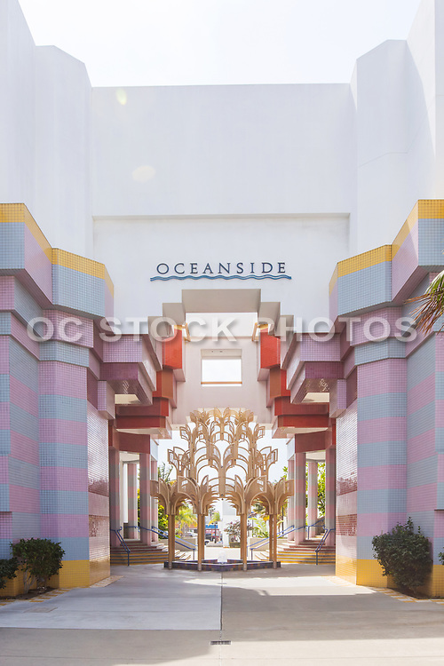 Oceanside Civic Center Front Entrance