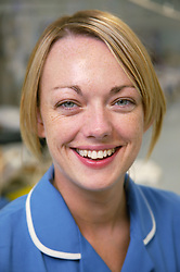 Portrait of Hospital Emergency short stay unit Staff Nurse,