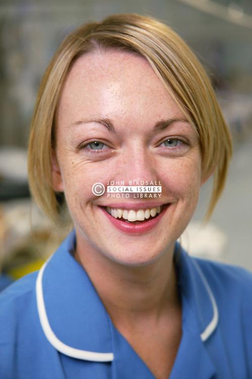Portrait of Hospital Emergency short stay unit Staff Nurse,