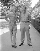 Al Mozell, Norman Mozell on leave from the army