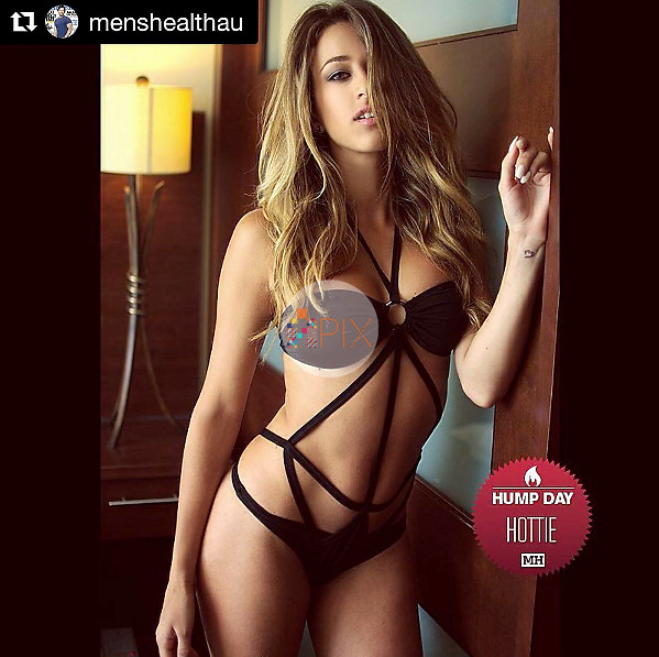 American model Cindy Prado features as this week's #HumpDayHottie on Men's Health Australia's Instagram @MensHealthAU<br />