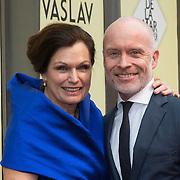 NLD/Amsterdam/20140316 - Inloop premiere toneelstuk Vaslav, Liz Snoijink en Mart Visser