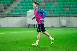 Benjamin Verbic during practice session of Team Slovenia 1 day before UEFA Nations League match against Norway, on November 15, 2018 in SRC Stozice, Ljubljana, Slovenia. Photo by Vid Ponikvar / Sportida