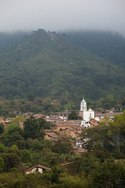 """San Sebastian, Mexico"" - A photograph of the small mountain town of San Sebastian, Mexico."