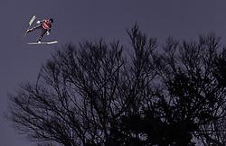 02.02.2019, Heini Klopfer Skiflugschanze, Oberstdorf, GER, FIS Weltcup Skiflug, Oberstdorf, Wertungsdurchgang, im Bild Clemens Aigner (AUT) // Clemens Aigner of Austria during his Competition Jump of FIS Ski Jumping World Cup at the Heini Klopfer Skiflugschanze in Oberstdorf, Germany on 2019/02/02. EXPA Pictures © 2019, PhotoCredit: EXPA/ JFK