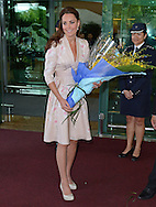 "CATHERINE, DUCHESS OF CAMBRIDGE AND PRINCE WILLIAM.are greeted on arrival at Changi Airport, at the start of their 2-day Tour of Singapore_11/09/2012.Mandatory credit photo: ©DIASIMAGES/NEWSPIX INTERNATIONAL..""No UK Sales Until 9th October 2012""..(Failure to credit will incur a surcharge of 100% of reproduction fees)..                **ALL FEES PAYABLE TO: ""NEWSPIX INTERNATIONAL""**..IMMEDIATE CONFIRMATION OF USAGE REQUIRED:.DiasImages, 31a Chinnery Hill, Bishop's Stortford, ENGLAND CM23 3PS.Tel:+441279 324672  ; Fax: +441279656877.Mobile:  07775681153.e-mail: info@newspixinternational.co.uk"