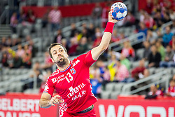 Horvat Zlatko (CRO) during handball match between National teams of Croatia and Czech Republic in 5/6 placement match of Men's EHF EURO 2018, on January 26, 2018 in Arena Zagreb, Zagreb, Croatia. Photo by Ziga Zupan / Sportida