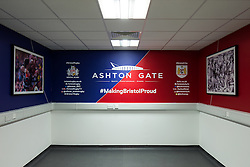 New photographers room in the Lansdown Stand at Ashton Gate - Rogan Thomson/JMP - 30/01/2017 - SPORT - Ashton Gate Stadium - Bristol, England - New West Stand Facilities.