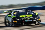 November 19-22, 2015: Lamborghini Super Trofeo at Sebring Intl Raceway. #29 Corey Lewis, Change Racing, Lamborghini Carolinas, Lamborghini Huracan 620-2