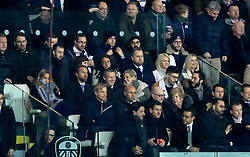 England Manager Gareth Southgate and England U21 Manager Aidy Boothroyd (centre row, left hand side) watch the action from the stands during the Sky Bet Championship match at Elland Road, Leeds.