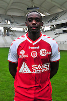 Chris Mavinga - 21.10.2014 - Photo officielle Reims - Ligue 1 2014/2015<br /> Photo : Philippe Le Brech / Icon Sport