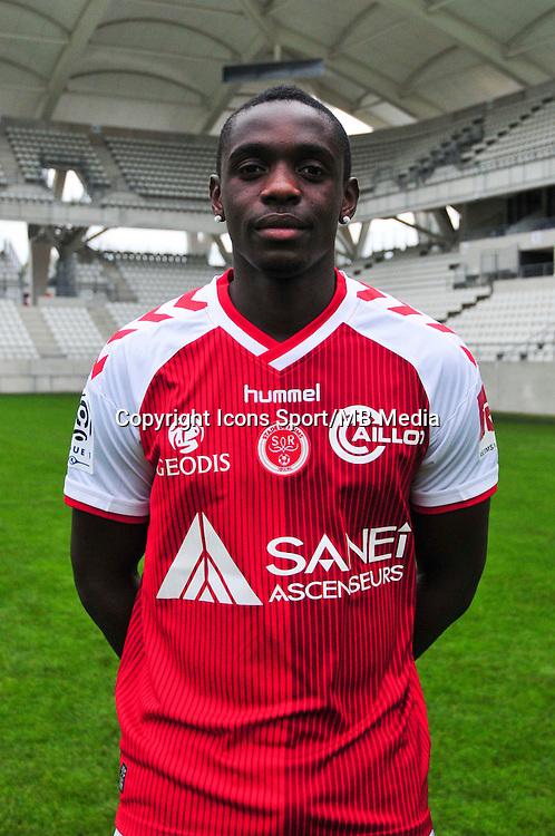 Chris Mavinga - 21.10.2014 - Photo officielle Reims - Ligue 1 2014/2015<br /> Photo : Philippe Le Brech / Icon Sport
