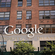 NEW YORK, US - August 19 2015: Google offices in New York, NY.