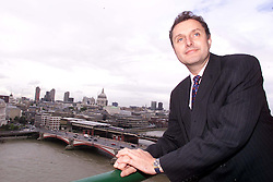 Feature portraits on Simon Sherwood, President of Orient Express Hotels, September 9, 2000. Photo by Andrew Parsons / i-Images..