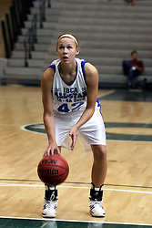 21 June 2008: Katie Broadway (42) gets a free throw. IBCA ( Illinois Coaches Basketball Association) Girls Class 3 & 4 All Star Game held at the Shirk Center on the Campus of Illinois Wesleyan University in Bloomington Illinois