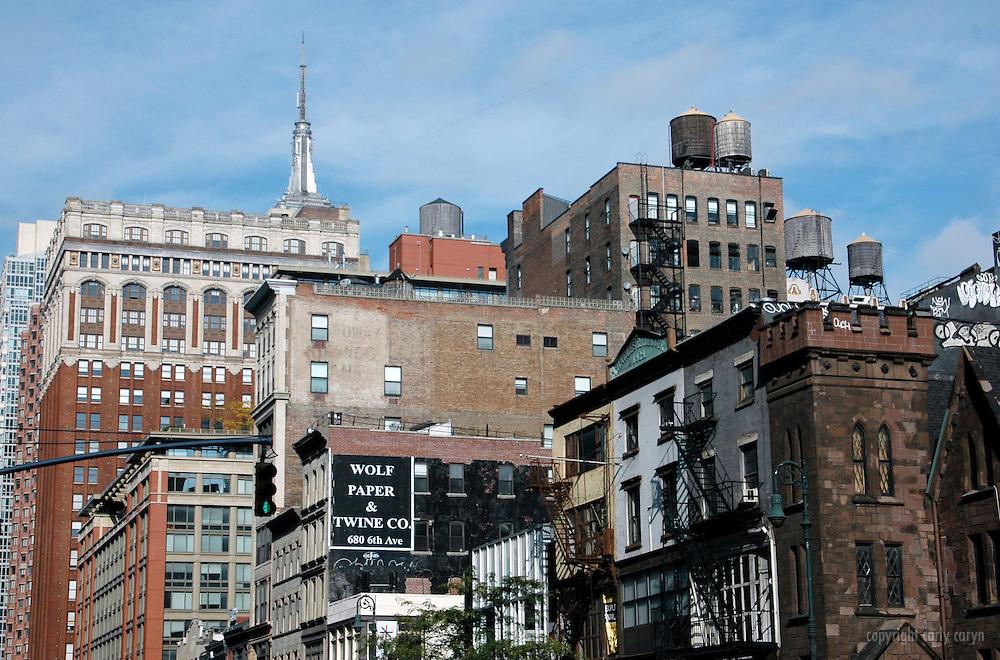 6th Avenue cityscape