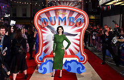 Eva Green attending the European premiere of Dumbo held at Curzon Mayfair, London.