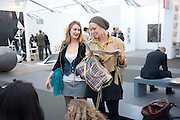 PRINCESS MARIA THURN UND TAXIS; PRINCESS ELIZABETH THURN UND TAXIS, Opening of Frieze 2009. Regent's Park. London. 14 October 2009 *** Local Caption *** -DO NOT ARCHIVE-© Copyright Photograph by Dafydd Jones. 248 Clapham Rd. London SW9 0PZ. Tel 0207 820 0771. www.dafjones.com.<br /> PRINCESS MARIA THURN UND TAXIS; PRINCESS ELIZABETH THURN UND TAXIS, Opening of Frieze 2009. Regent's Park. London. 14 October 2009