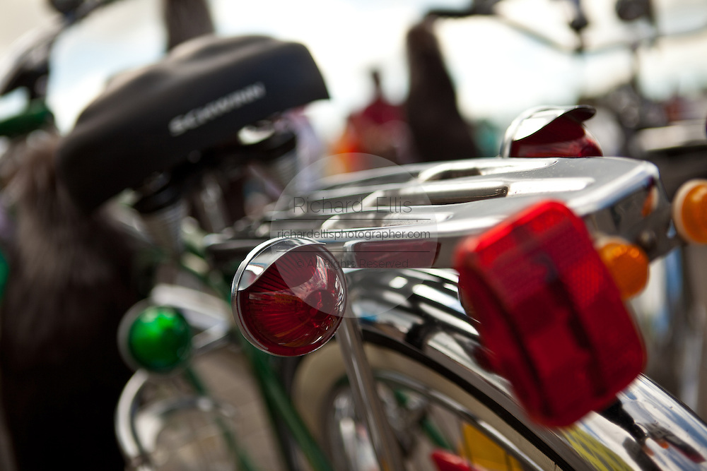 Antique Bicycle tail lights in Puerto Rico