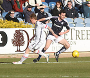 Dundee&rsquo;s Paul McGowan and Inverness&rsquo; Carl Tremarco - Dundee v Inverness Caledonian Thistle - Ladbrokes Scottish Premiership at Dens Park<br /> <br />  - &copy; David Young - www.davidyoungphoto.co.uk - email: davidyoungphoto@gmail.com