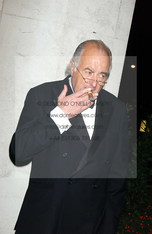 JOHN MAGNIER at the Cartier Racing Awards held at the Four Seasons Hotel, Hamilton Place, London W1 on 16th November 2005.<br /><br />NON EXCLUSIVE - WORLD RIGHTS