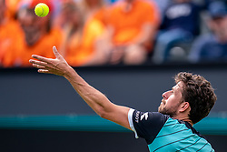 10-06-2019 NED: Libema Open, Rosmalen<br /> Grass Court Tennis Championships / Robin Haase