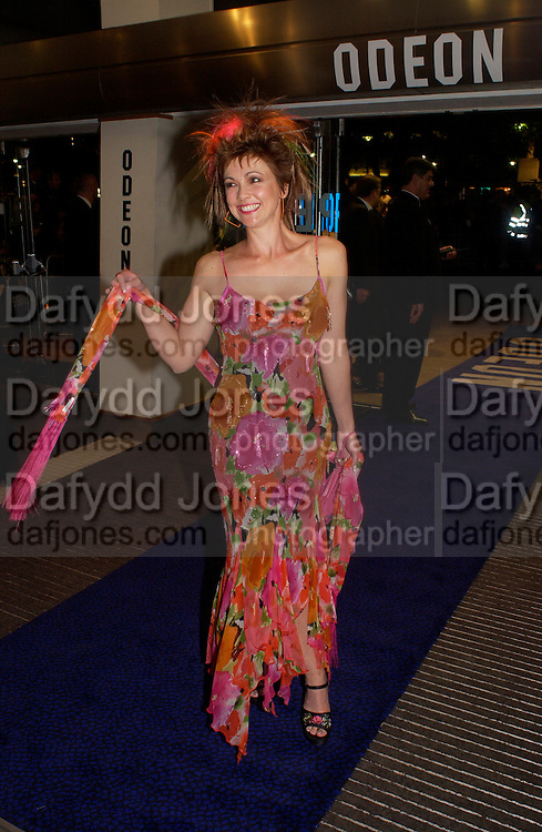 Emma Samms , Bright Young Things Royal European charity premiere in Leicester Sq. and party afterwards at  Claridges, 28 September 2003. © Copyright Photograph by Dafydd Jones 66 Stockwell Park Rd. London SW9 0DA Tel 020 7733 0108 www.dafjones.com