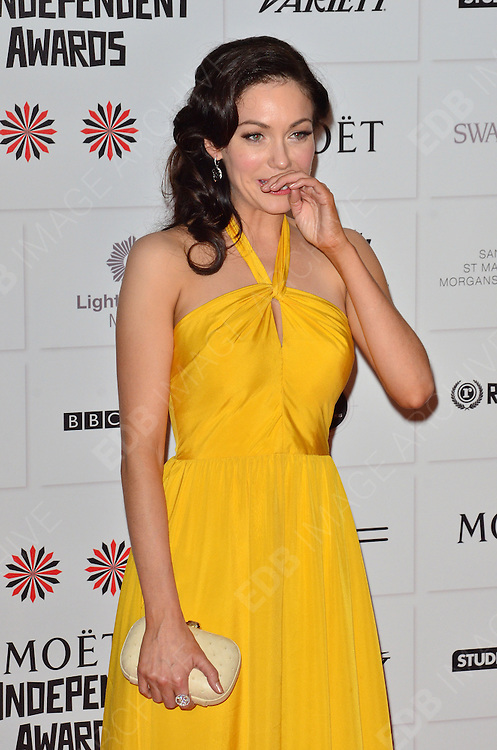 09.DECEMBER.2012. LONDON<br /> <br /> ANNA SKELLERN ATTENDS THE BRITISH INDEPENDENT FILM AWARDS AT OLD BILLINGSGATE MARKET. <br /> <br /> BYLINE: JOE ALVAREZ/EDBIMAGEARCHIVE.CO.UK<br /> <br /> *THIS IMAGE IS STRICTLY FOR UK NEWSPAPERS AND MAGAZINES ONLY*<br /> *FOR WORLD WIDE SALES AND WEB USE PLEASE CONTACT EDBIMAGEARCHIVE - 0208 954 5968*