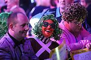 Darts fan during the 2016 Singha Beer Grand Slam of Darts at Wolverhampton Civic Hall, Wolverhampton, United Kingdom on 13 November 2016. Photo by Shane Healey.
