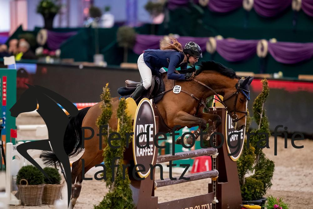 MÜRDTER Celine (GER), Cosma<br /> Leipzig - Partner Pferd 2019<br /> SPOOKS-Amateur Trophy<br /> Small Tour<br /> 18. Januar 2019<br /> © www.sportfotos-lafrentz.de/Stefan Lafrentz